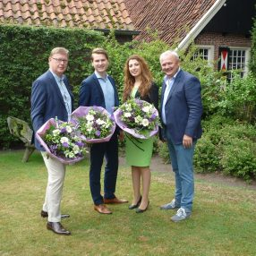 D66 lijsttrekkers Dinkelland, Losser en Oldenzaal